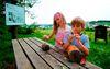 Kinderspaß auf dem Bienenerlebnisweg in Freyung