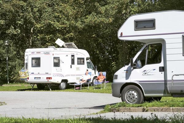 Wohnmobilstellplatz bei Freyung am Nationalpark