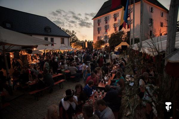 Abendstimmung am Historischen Schlossfest