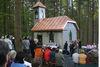 Der Kreuzweg im Leitenwald bei Freyung führt zur Brücklmayr-Kapelle