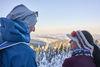 Der Bayerische Wald ist ein Paradies für Langläufer und Winterurlauber