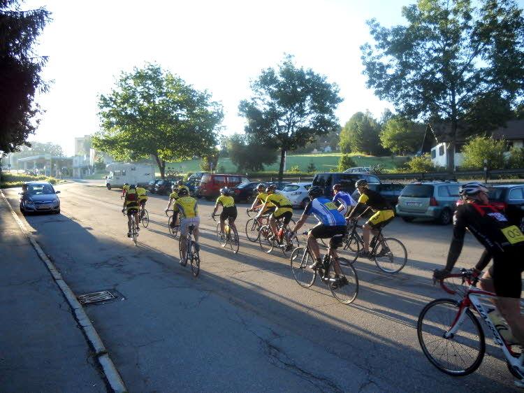 Dreiländer-Radmarathon mit dem Radclub Freyung