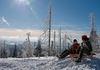 Wintererlebnis beim Schlittenfahren im Nationalpark-FerienLand Bayerischer Wald