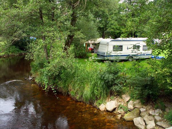 Camping an der Ilz in der Schrottenbaummühle