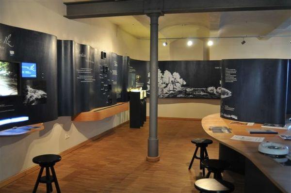 Alles über die schwarze Perle Ilz erfahren Sie in der Ilz-Infostelle im Schloss Fürsteneck