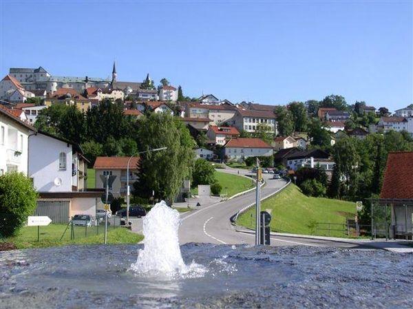 Der Erholungsort Fürstenstein im Passauer Land