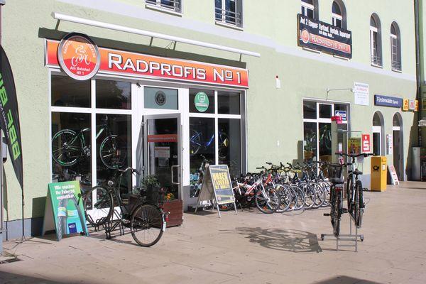 Fahrradverleih am Bahnhof Fürstenwalde, Radprofis Nr 1, Foto: Steffen Lelewel