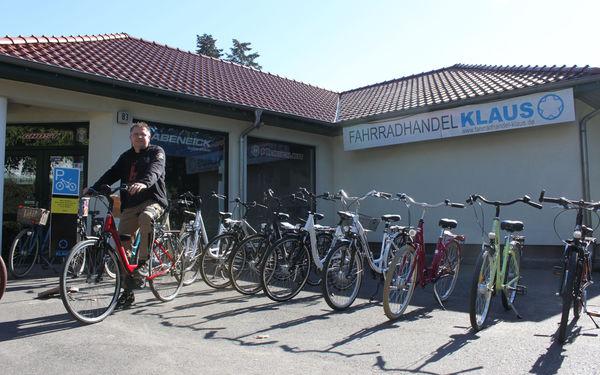 Fahrradhandel Klaus in Fürstenwalde, Foto: Steffen Lelewel