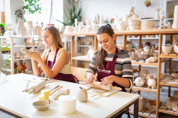 Keramikwerkstatt Fürstenwalde/Spree, Foto Seenland Oder-Spree e.V./Florian Läufer