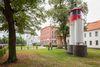 Kulturfabrik mit Leuchtturm Fürstenwalde, Foto: Florian Läufer