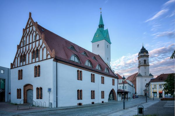 Altes Rathaus Fürstenwalde/Spree, Foto: Florian Läufer