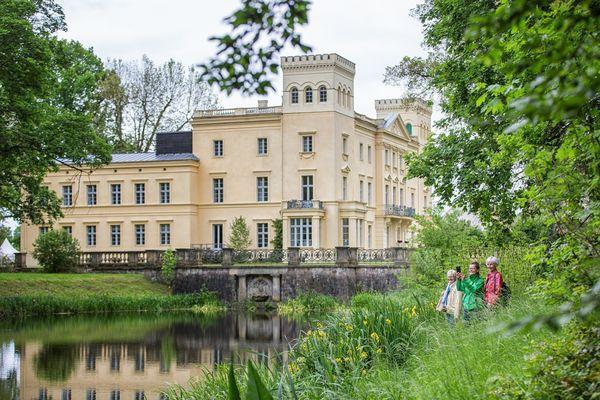 Märkische Schloessertour (180 km), Schloss Steinhöfel, Foto: Florian Läufer