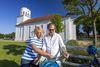 Schinkel-Kirche Neuhardenberg, Foto: TMB Fotoarchiv/ Andreas Franke