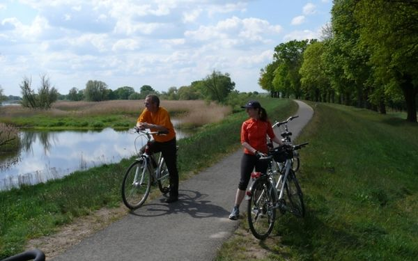 Oder-Spree-Tour (278 km), An der Oder, Foto: Rußig