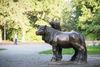 Skulptur im Stadtpark Fürstenwalde, Foto: Florian Läufer