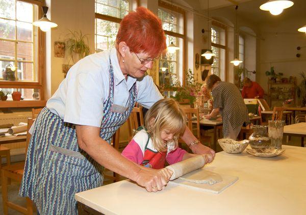 Keramikwerkstatt, Foto: TVSOS