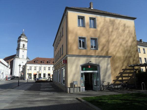 Touristinformation im Herzen der Domstadt Fürstenwalde/Spree, Foto: Antje Oegel