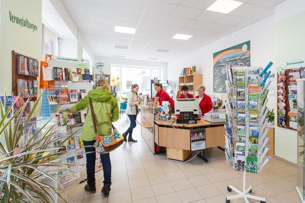Touristinformation im Herzen der Domstadt Fürstenwalde/Spree, Foto: Florian Läufer