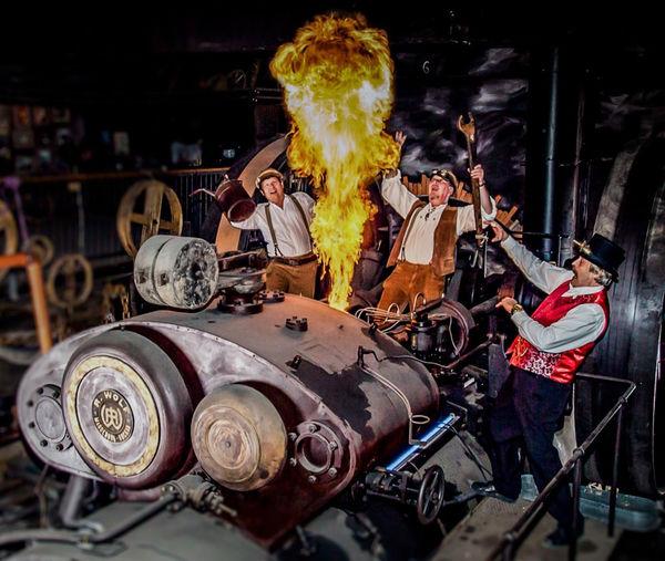 Das Dampfmaschinen-Spektakel