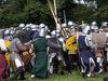 Feldschlacht der Schwertkämpfer beim CAVE GLADIUM in der Drachenstichstadt Furth im Wald
