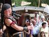 Historische Musikgruppe beim CAVE GLADIUM in der Drachenstichstadt Furth im Wald