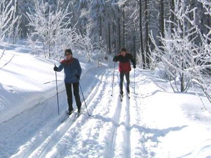 Skiwandern im Langlaufgebiet Gibacht-Cerchov-Voithenberg