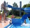 Kinderspaß an der Wasserrutsche im Drachensee-Freibad in Furth im Wald