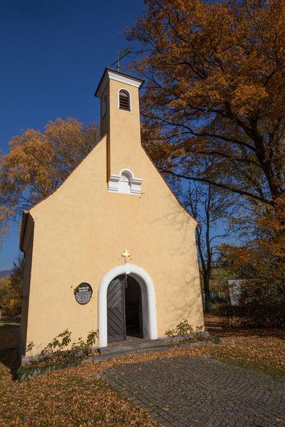 Die Leonhardikapelle in Furth im Wald ist jährlich am Ostermontag das Ziel des Leonhardi-Ritts