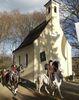 Der Leonhardi-Ritt in Furth im Wald führt zur Leonhardi-Kapelle