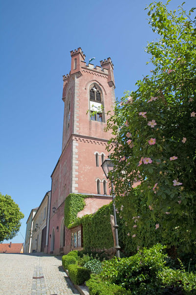 Lohnenswert ist beim Museumsbesuch die Besteigung des Further Stadtturms, Sie werden mit einem fantastischem Rundblick belohnt