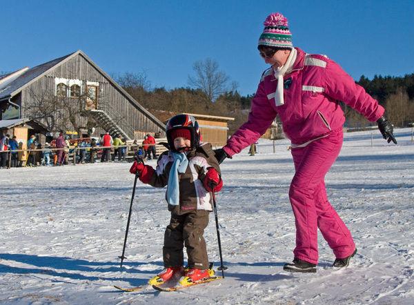 Winterspaß für die ganze Familie beim Skilift Althütte in Waldmünchen