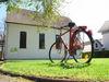 Hinweis Radfahrerkirche in Gaggenau-Hörden