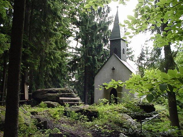 Die Waldkapelle Steinzen in Geiersthal im ArberLand Bayerischer Wald
