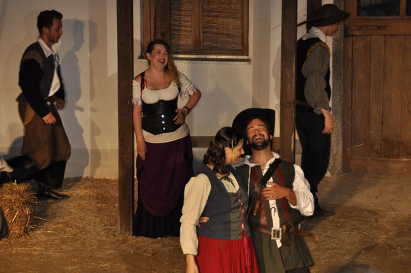 Impressionen vom Festspiel Eva Plenningerin in Geiselhöring