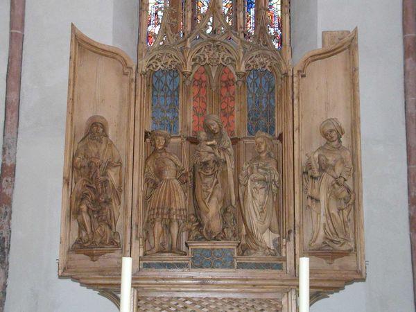 Altar in der Stadtkirche in Geislingen an der Steige