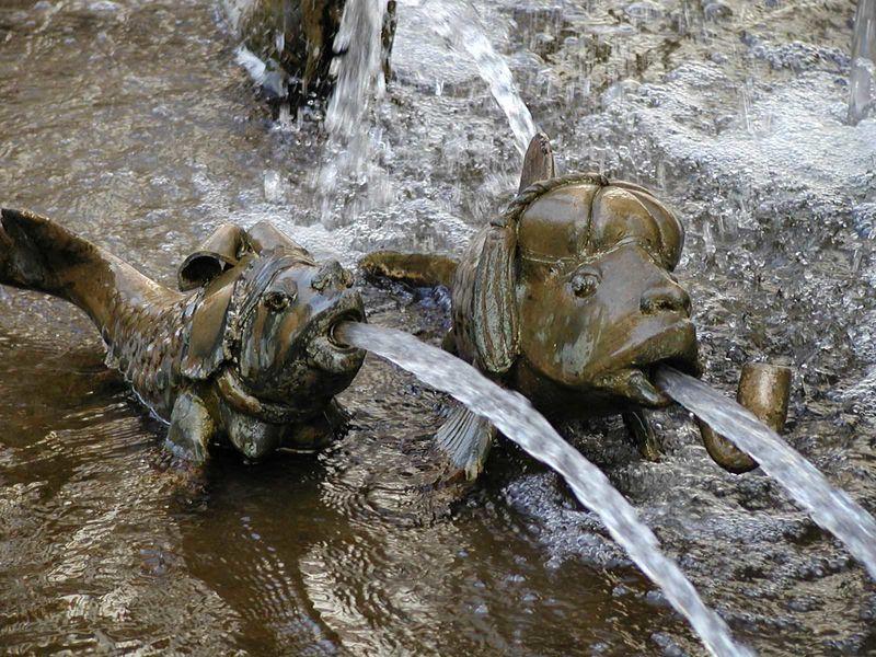 Forellenbrunnen in Geislingen an der Steige