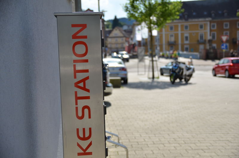 Gernsbach - E-Bike-Ladestation Salmengasse