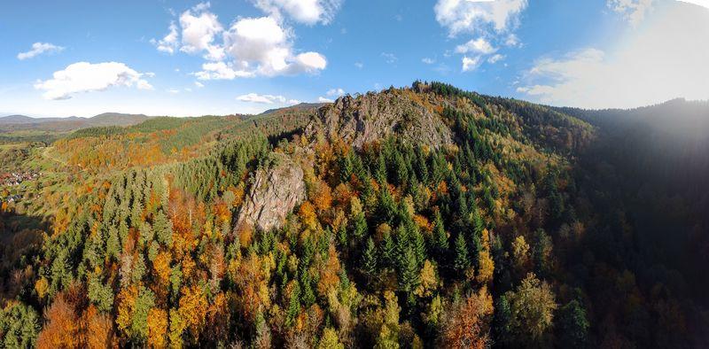 Lautenfelsen, Panorama Lautenbach