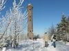 Winteransicht vom Holohturm in Kaltenbronn