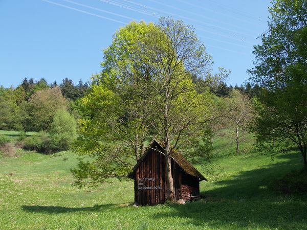 Heuhütte, Kunstweg am Reichenbach