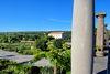 Blick von der Römervilla zur Taverne im Europäischen Kulturpark Bliesbruck-Reinheim