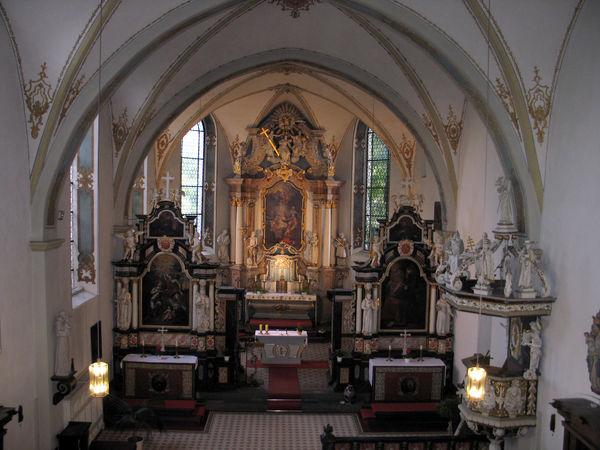 Innenansicht Kloster