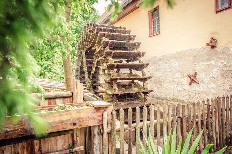 Mühlrad bei der Alten Mühle