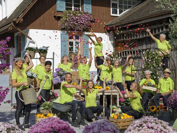 Das Team von Blumen Rombach