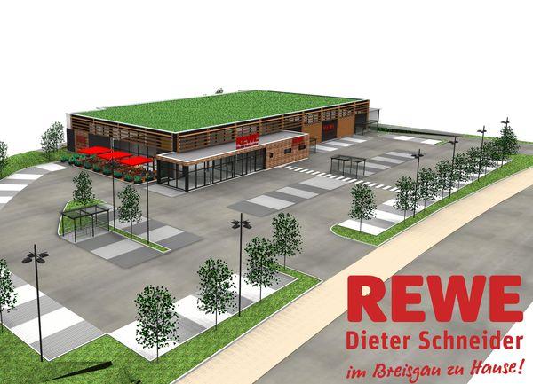 Der neue REWE Markt in Glottertal