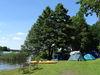 Wasserwanderer am Campingverein Glower See, Foto: Frank Kühl