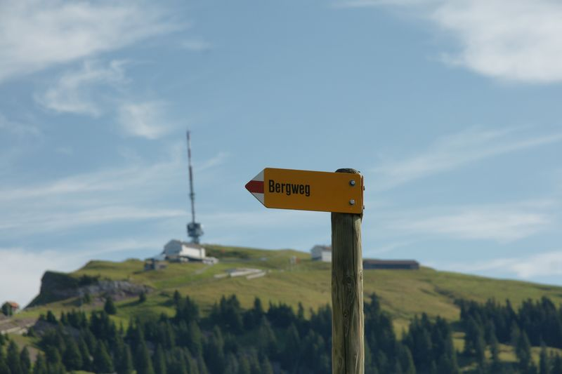 Rigi northern trail