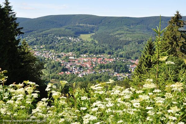 Blick auf Goldlauter-Heidersbach