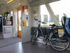E-Bike in der Bahn, Foto: Seenland Oder-Spree e.V.