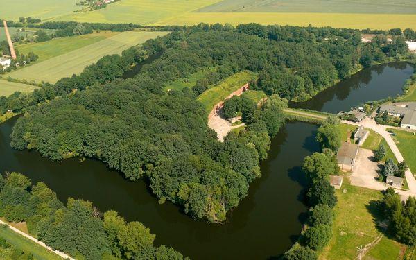 Luftaufnahme Gorgast, Foto: Verein Fort Gorgast e.V.